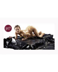 Vinyl gultas pārvalks, melns