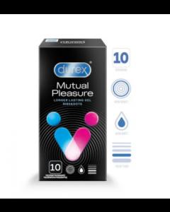 DUREX Mutual Pleasure Prezervatīvi 10 GAB.