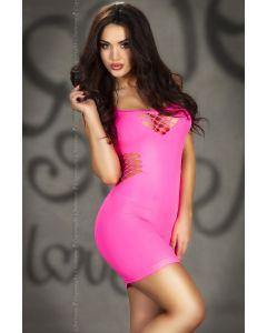 Pink seamless Mini dress