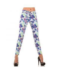 Multicolored jeans